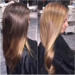 Lovely soft color! Ska du bli blond till sommar 2015 då är det dags att stegra upp ljusheten redan nu! Sakta men säkert